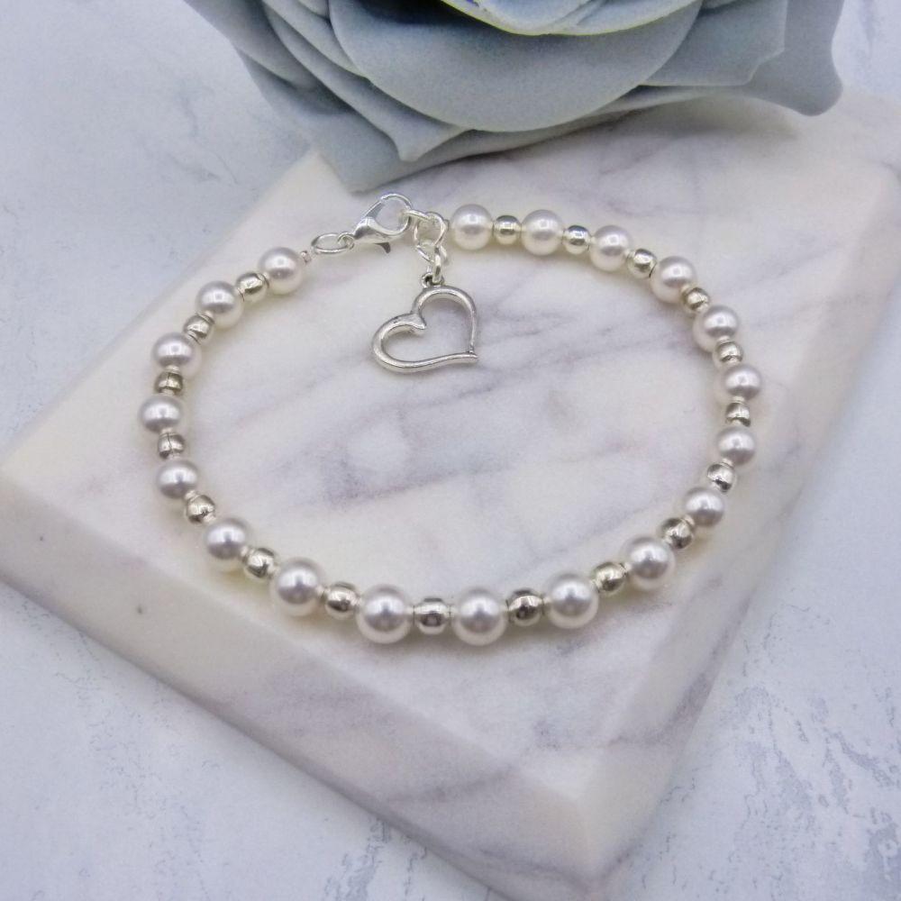 Penny Silver Bracelet