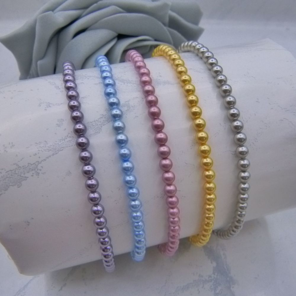 Diana Pearl Anklets
