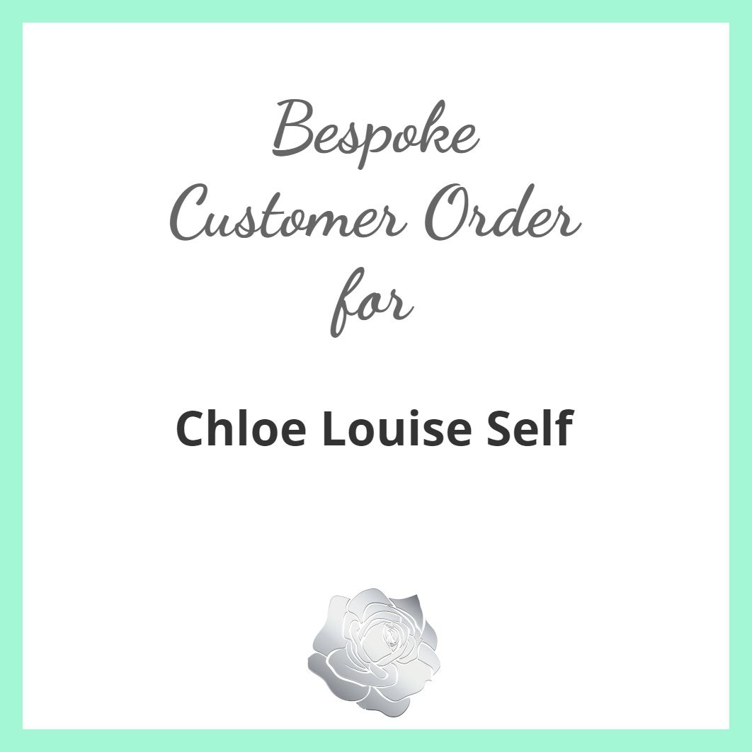 Chloe Louise Self - Light Rose Crystal Heart Set