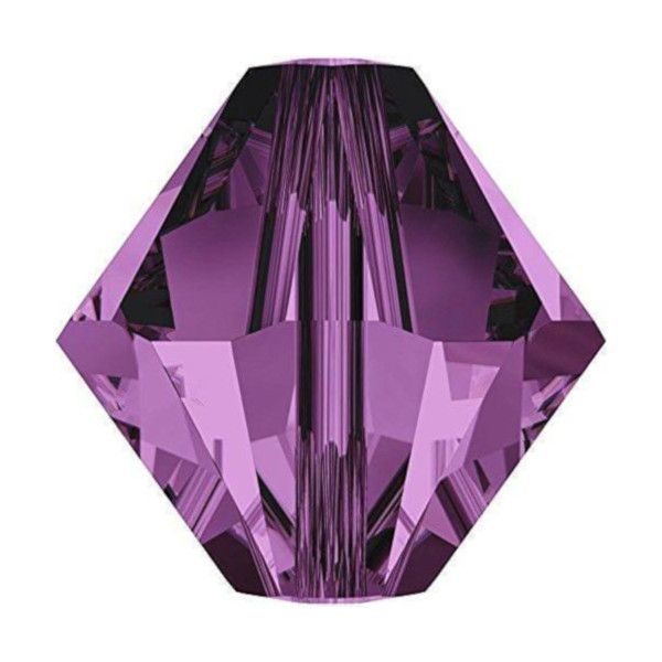 Purple Bicone Crystal Colours