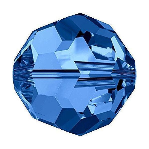 Blue Round Crystal Colours