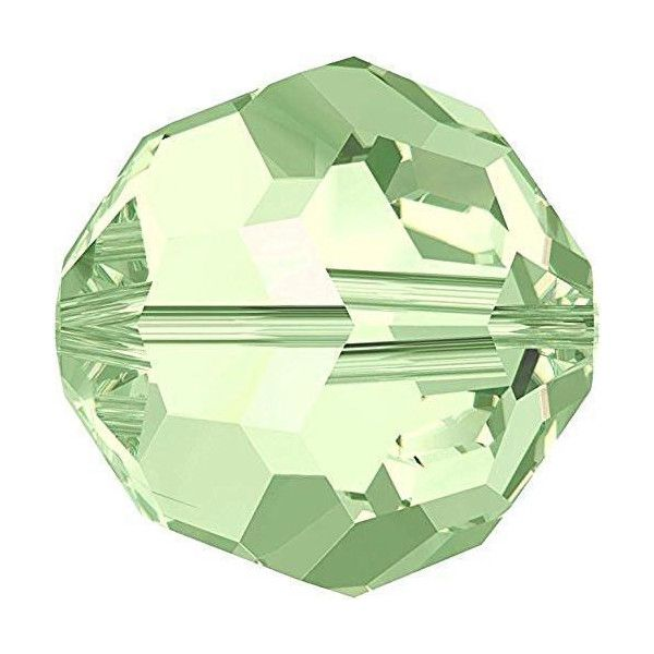 Green Round Crystal Colours