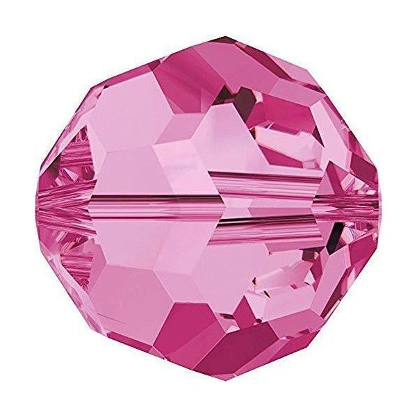 Pink Round Crystal Colours
