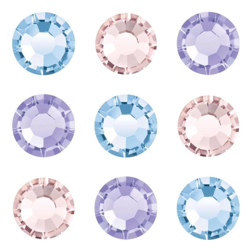 Blues Pinks & Purples
