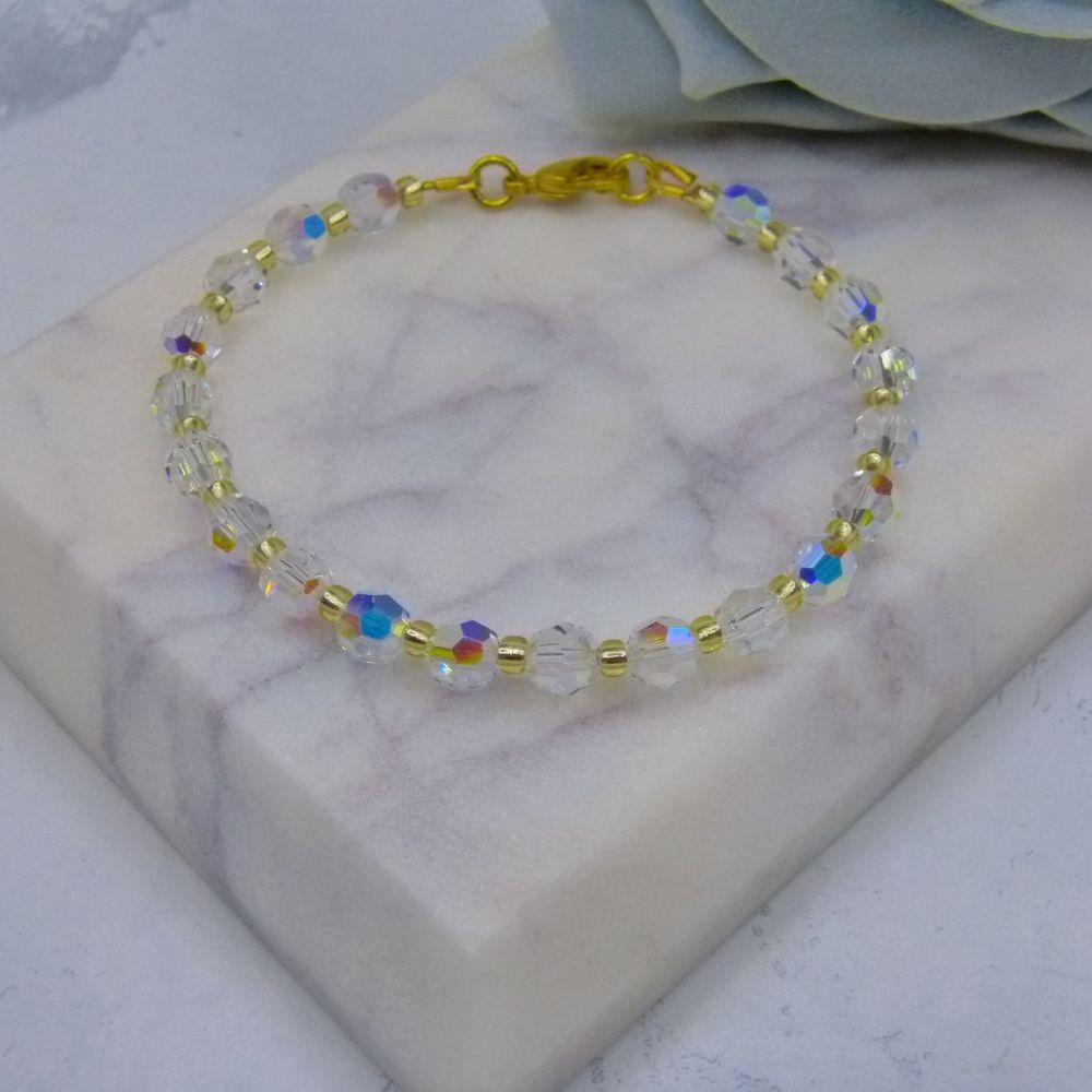 Delia Crystal Bracelet