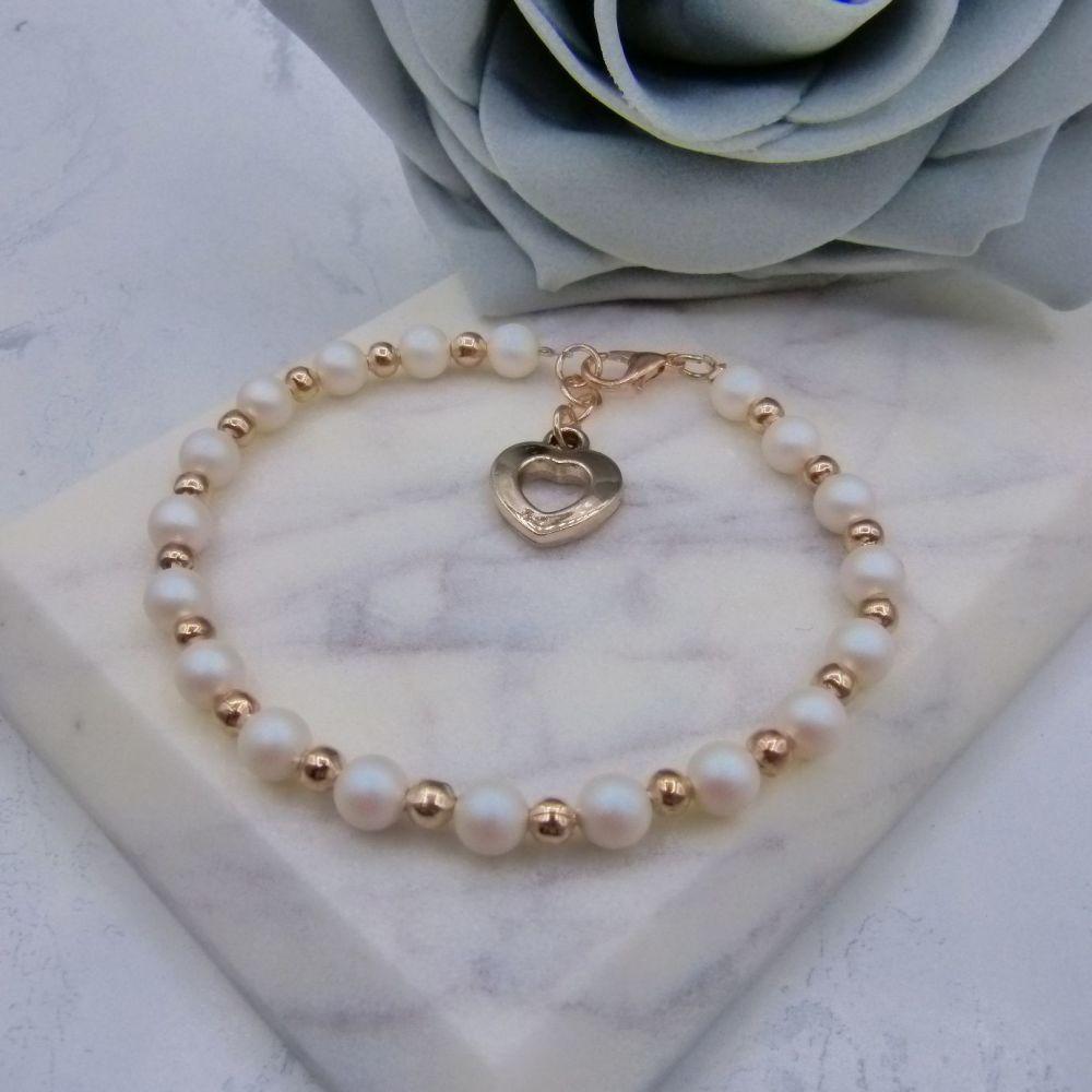 Penny Rose Gold Bracelet