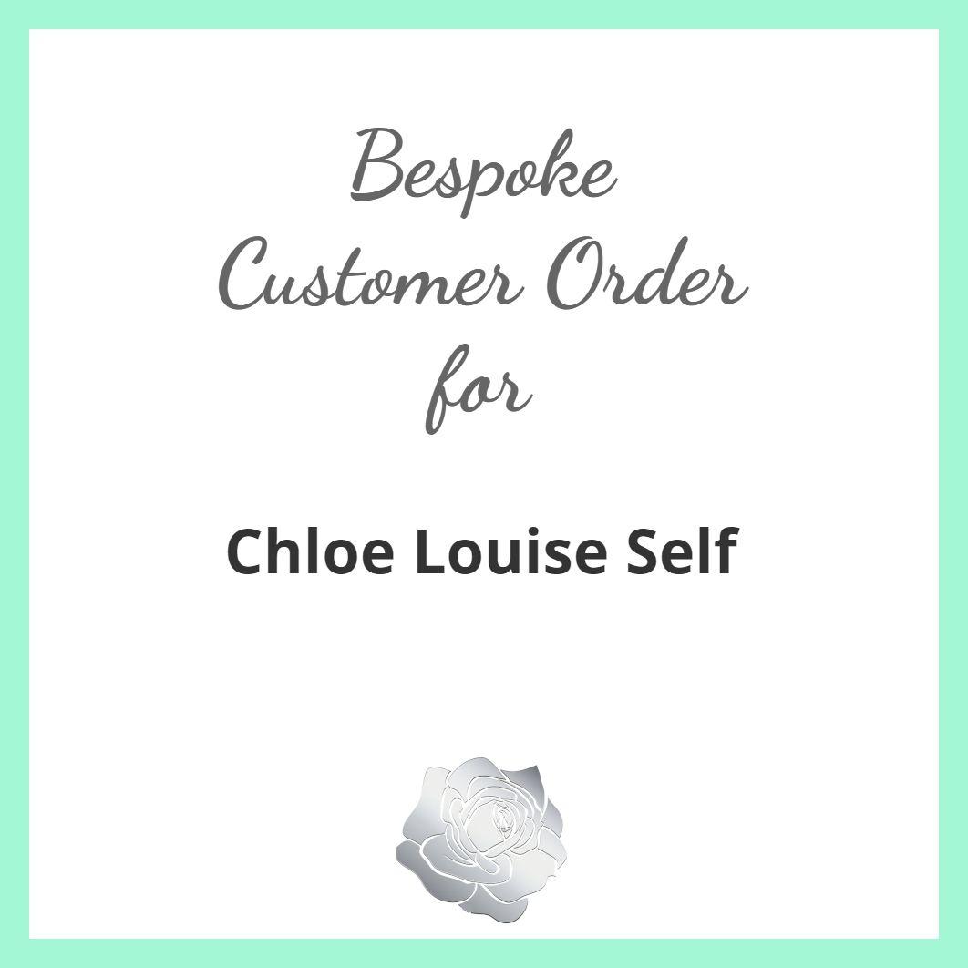 Chloe Louise Self - Heart Earrings