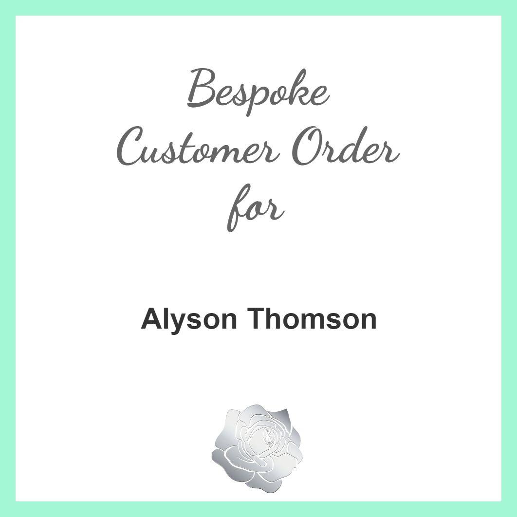 Alyson Thomson - 2 x Starfish Anklets