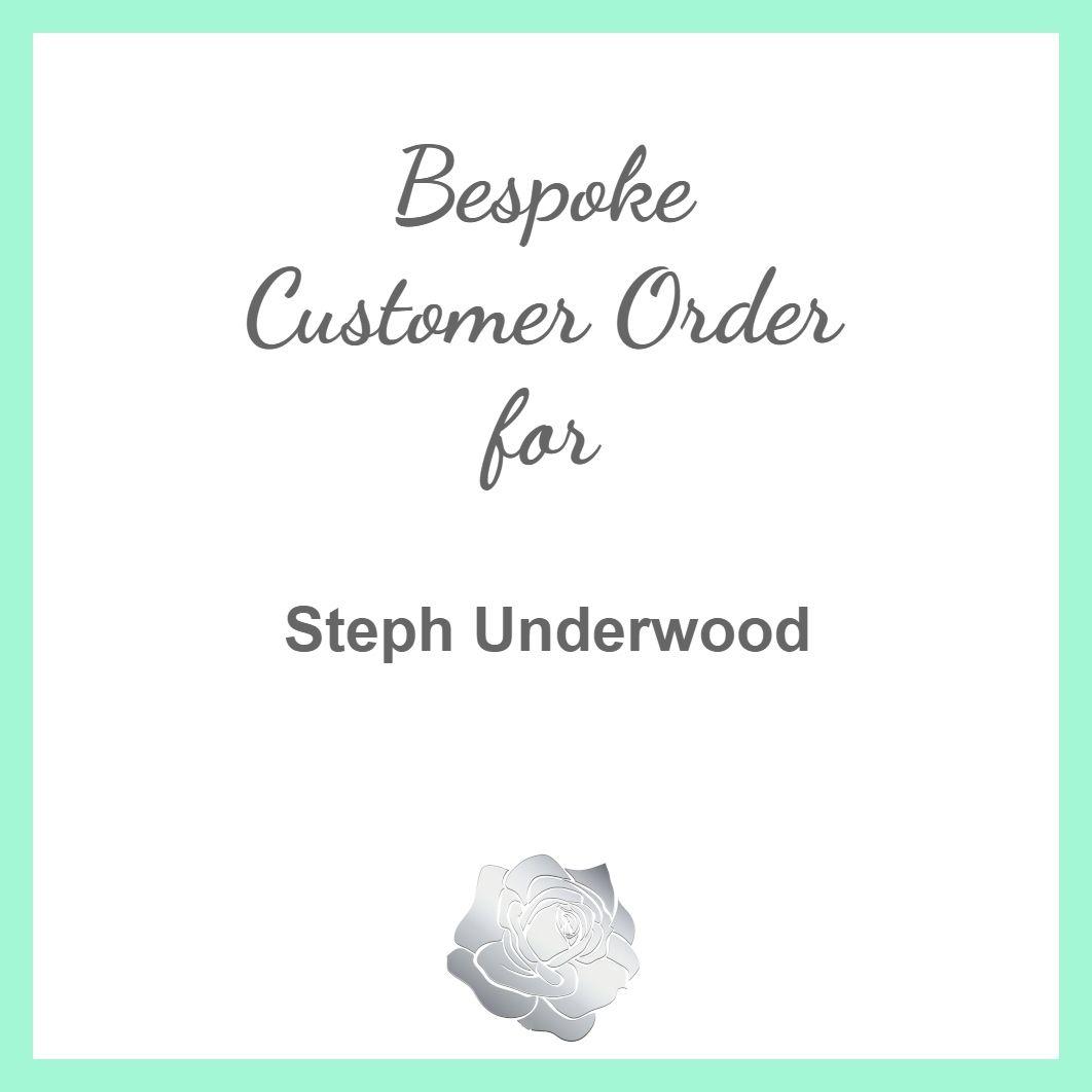 Steph Underwood - 2 x Flower Girl Bracelets