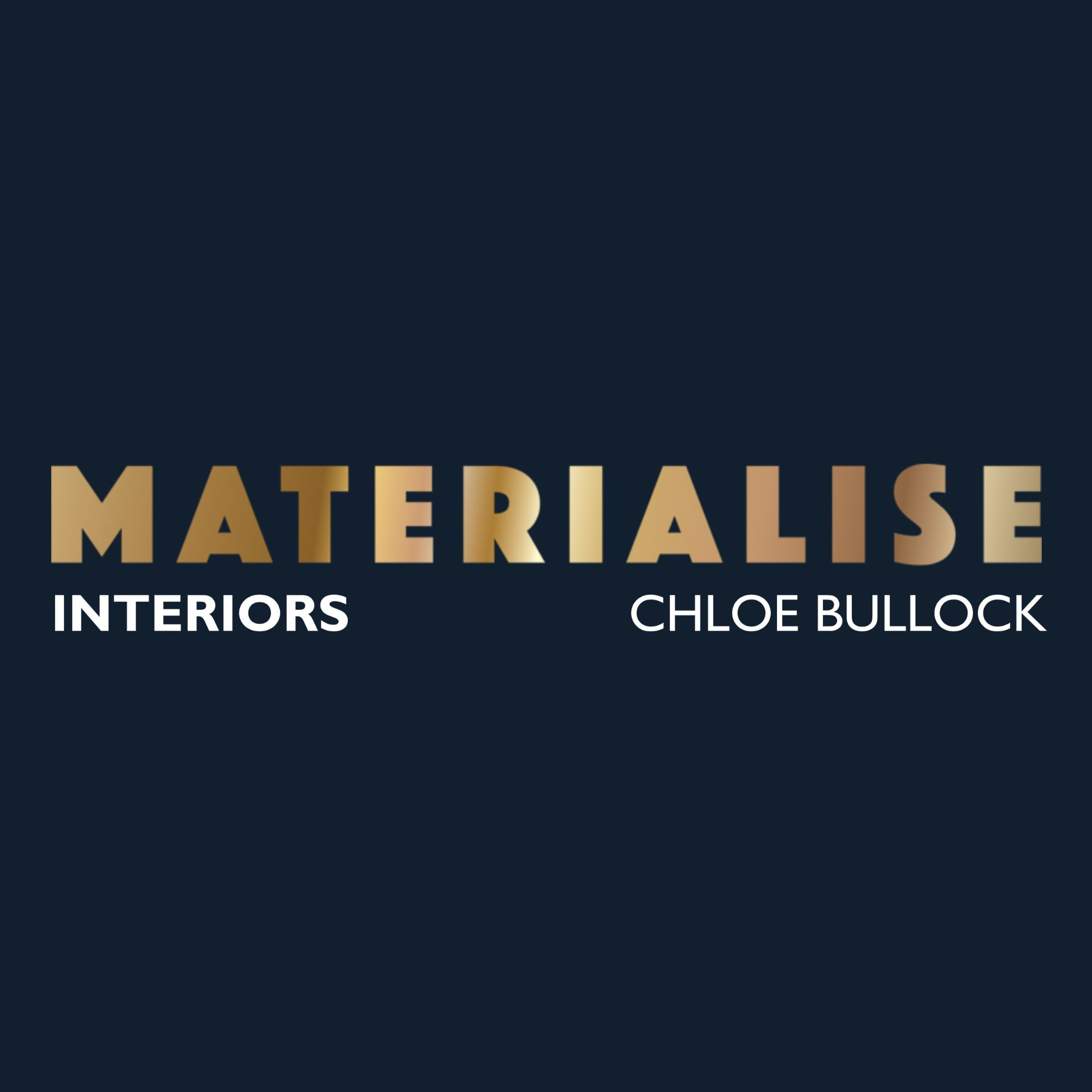 The Materialise Interiors Logo