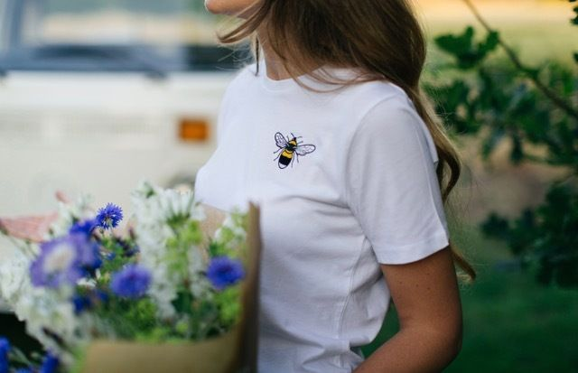 tommy and lottie organic cotton bee t shirt - WEB