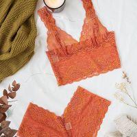 Tangerine Dream Longline Set - Brighton Lace