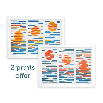 Sunrise/Sunset at Sea Print Bundle - Canda Bytes