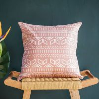 Cushion Cover in Pink - Iman - Tikauo