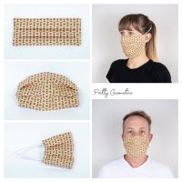 Pretty Geometric Face Mask - Seamstress By The Sea