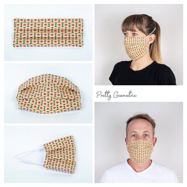 Pretty Geometric Face Mask