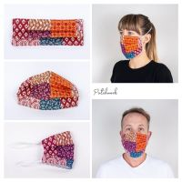 Patchwork Face Mask - Seamstress By The Sea