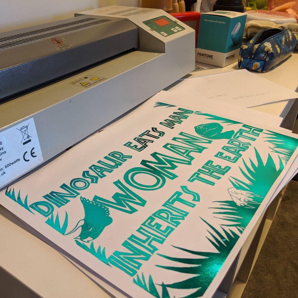 Women Inherits the Earth Print