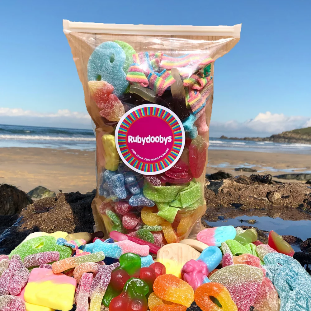 Large 1kg Vegan Sweet Pouch - Rubydoobys