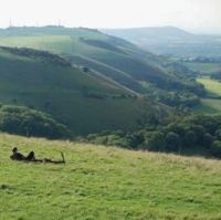 Devil's Dyke Card  - Tilia Publishing UK
