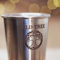 Old Tree Recycled Stainless Steel Cup - Old Tree Brewery