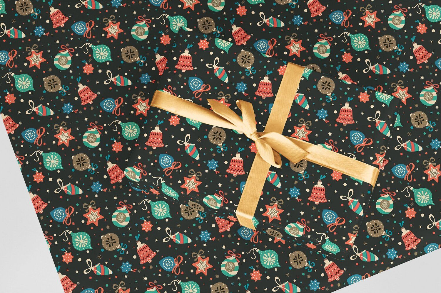 Curlicue Wrapping Paper
