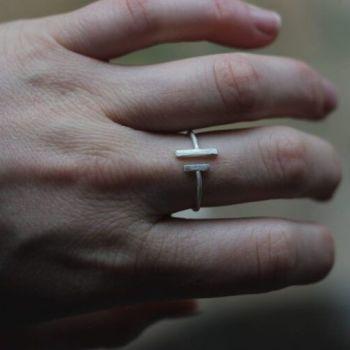 Open Bar Ring - AMC Jewellery