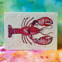 Will You Be My Lobster? Card - Loop Loop