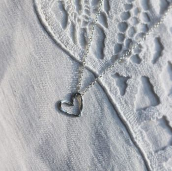 Heart Charm Necklace - AMC Jewellery