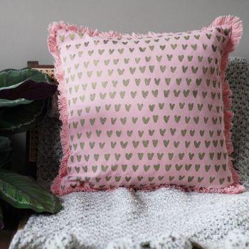 Mirage Heart Cushion Cover - Tikauo