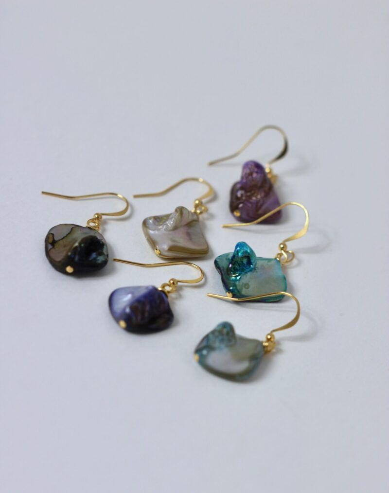 Mother Of Pearl Dangles From AMC Jewellery