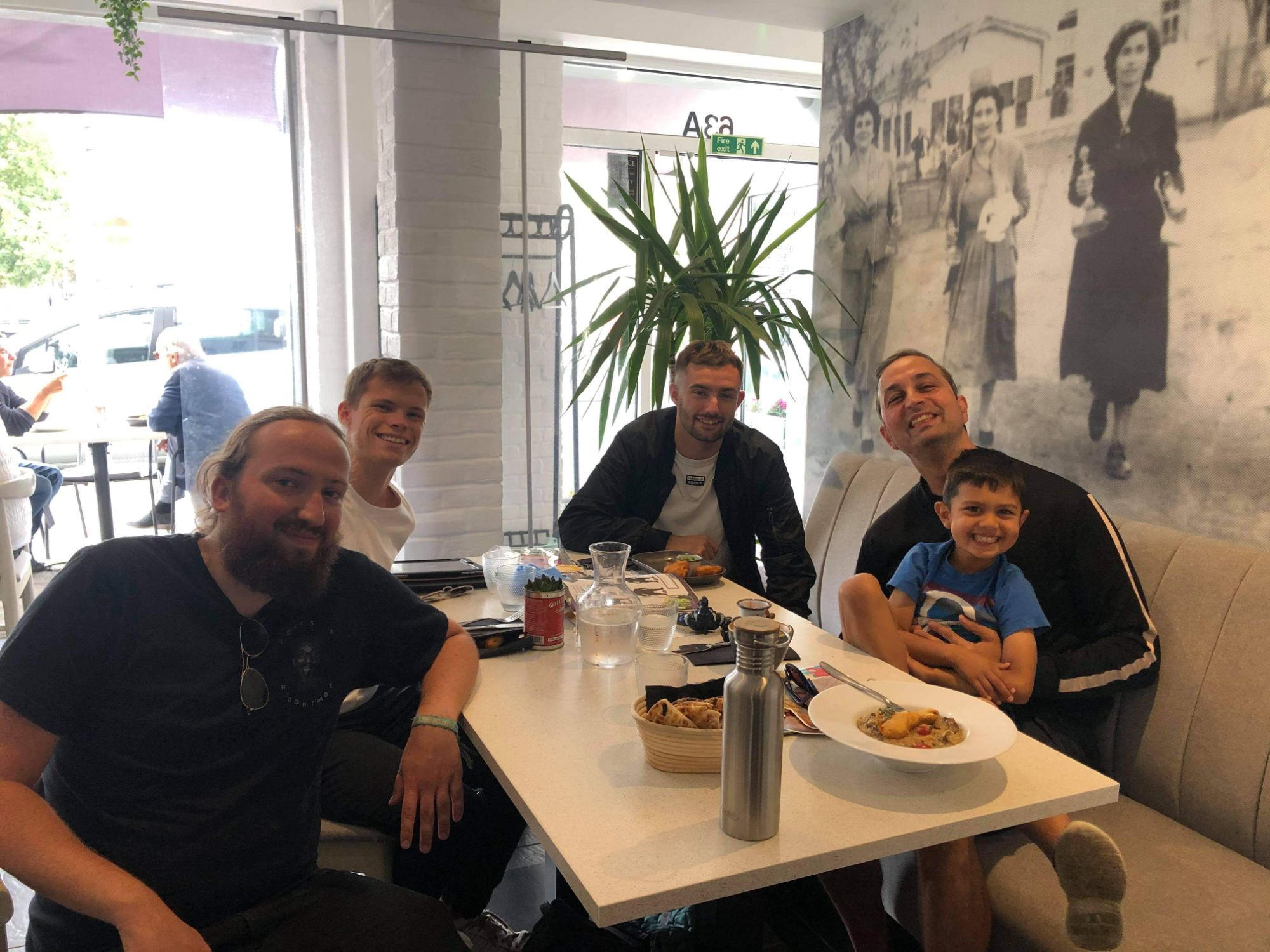 The Ethicul Team at Nostos Hove