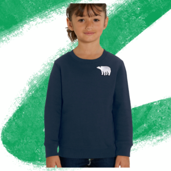 Polar Bear Sweatshirt - Child's - Tommy & Lottie