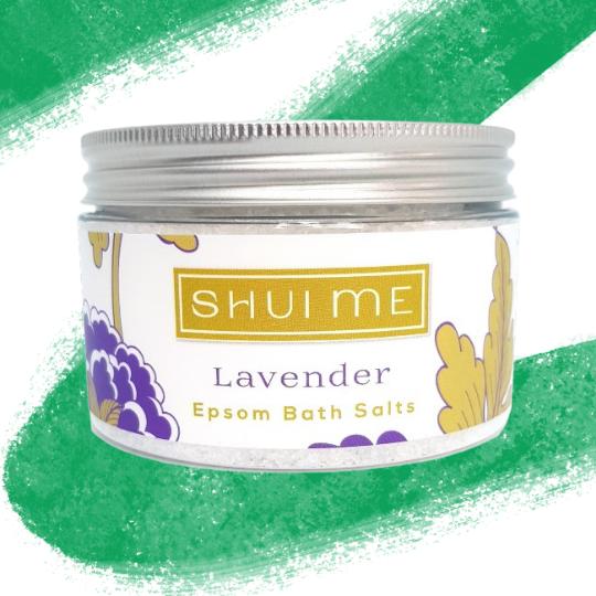 Shui Me Epsom Bath Salts 300g - Lavender - My Green Pod
