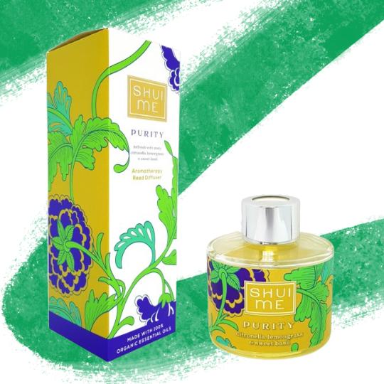 Shui Me Organic Reed Diffusers 100ml - Purity - My Green Pod