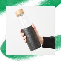 Neon Kactus Reusable Glass Bottles 550ml - My Green Pod