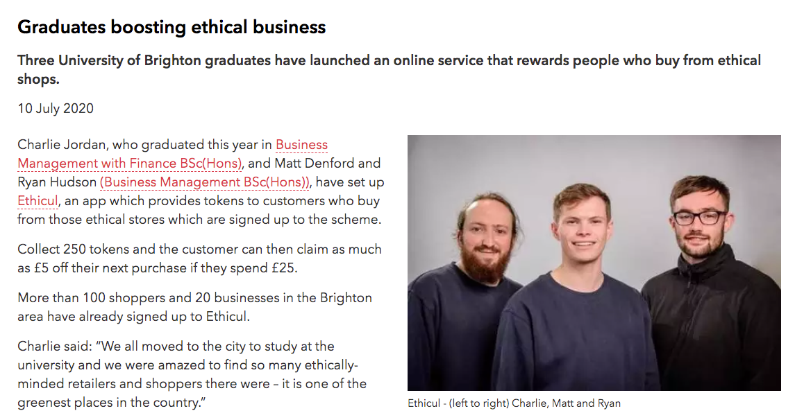 The Ethicul Team