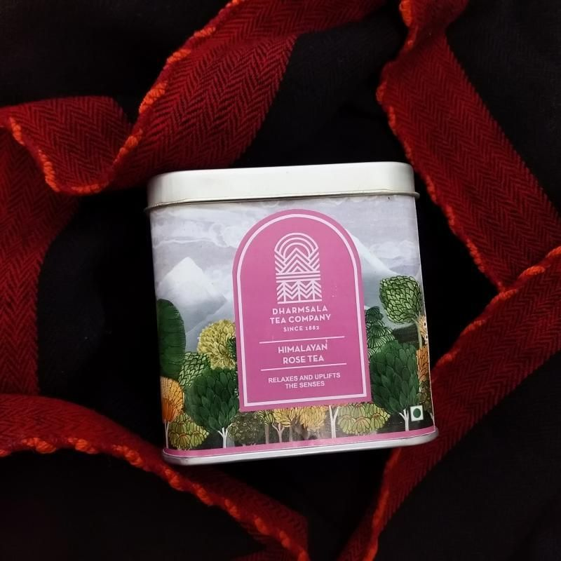 Himalayan Rose Tea Tin - Darvaza Teas