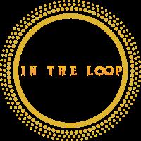 The logo of In The Loop Drinks.