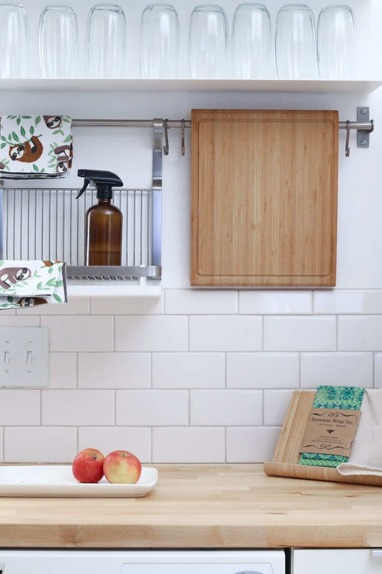 A kitchen surface