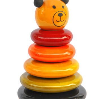 Cubby The Wooden Stacking Toy Bear - Ethiqana