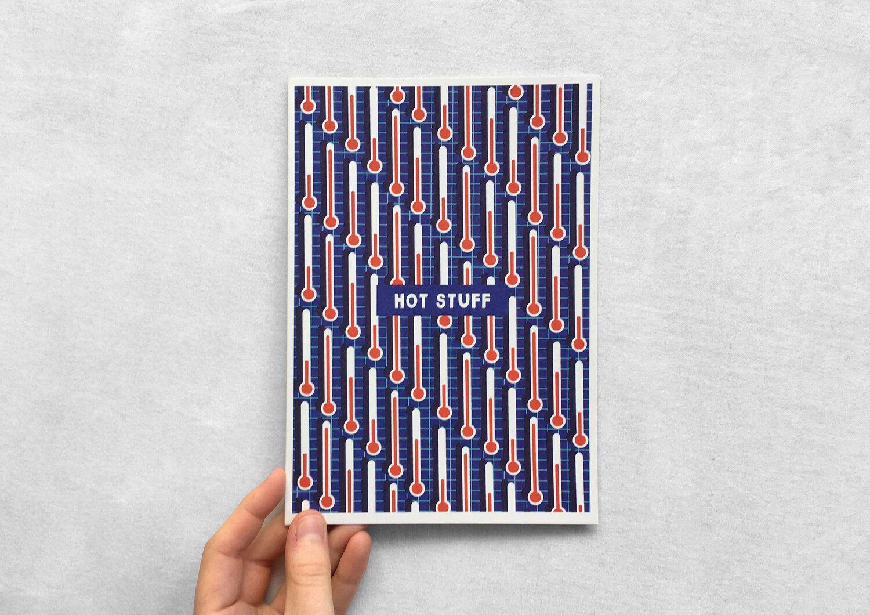 Hot Stuff card - Elena Drew This