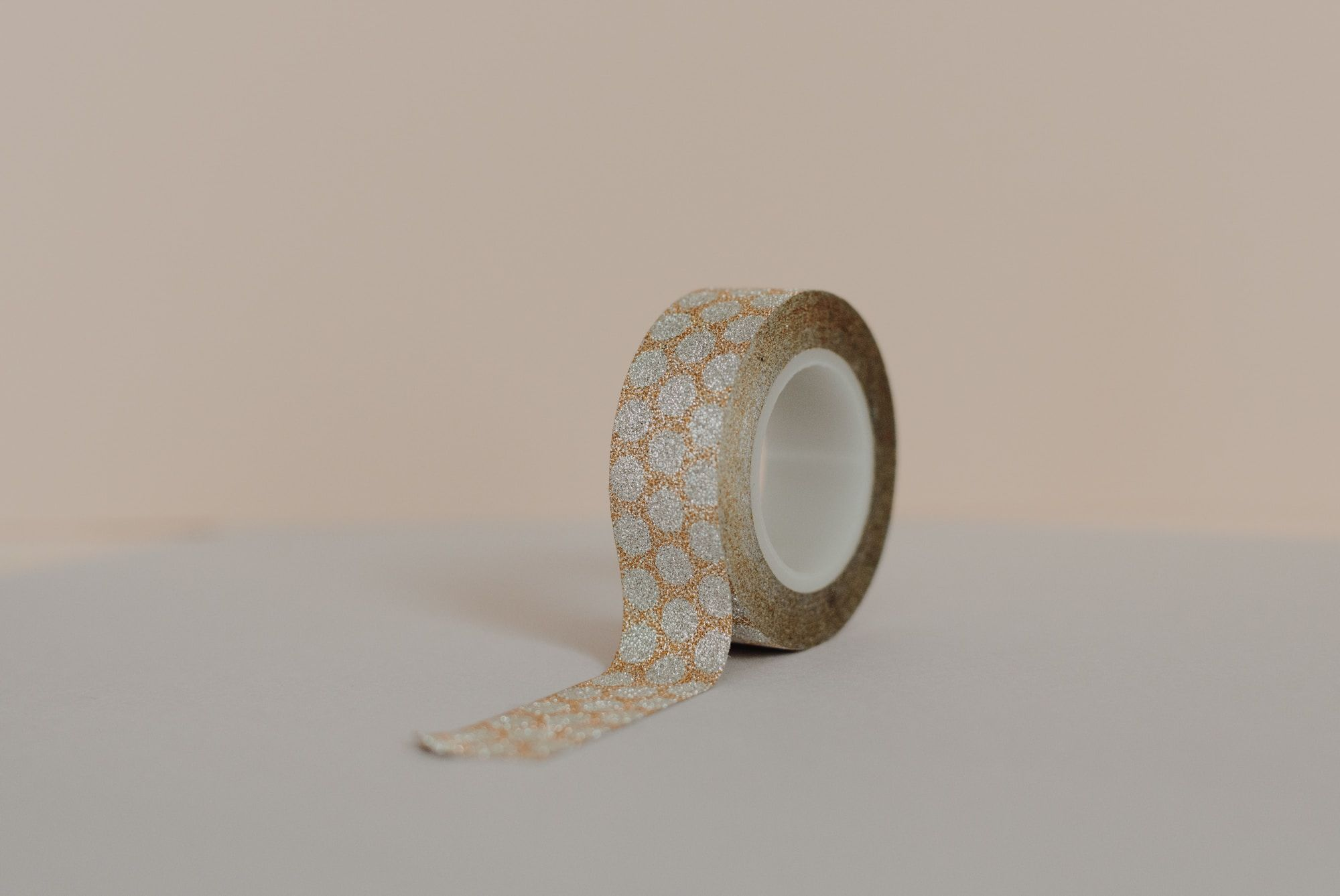 A roll of paper tape.