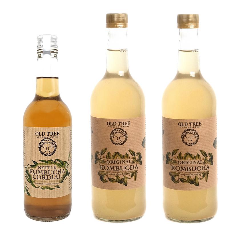 Nettle & Kombucha Bundle from Old Tree Brewery