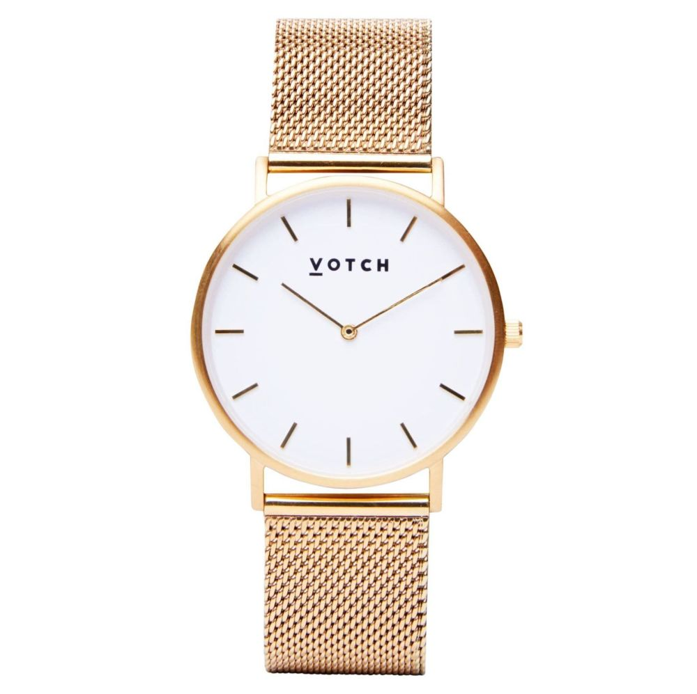 Gold & Gold   Watch   Classic Collection Mesh - VOTCH