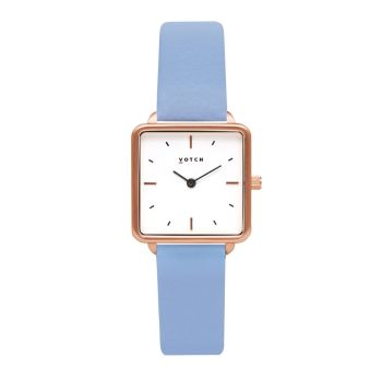 Rose Gold & Sky Blue   Watch   Kindred Collection - VOTCH