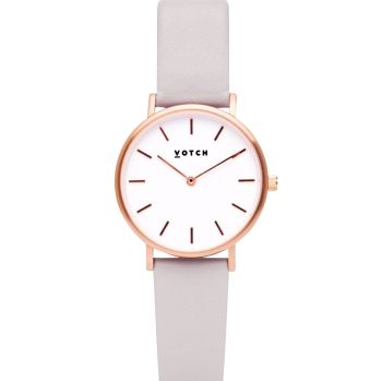 Rose Gold & Light Grey   Watch   Classic Petite Collection - VOTCH