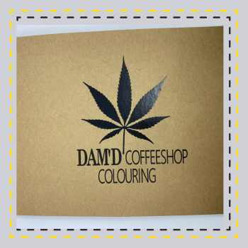 CoffeeShop Colouring Book (Over 18's Only)