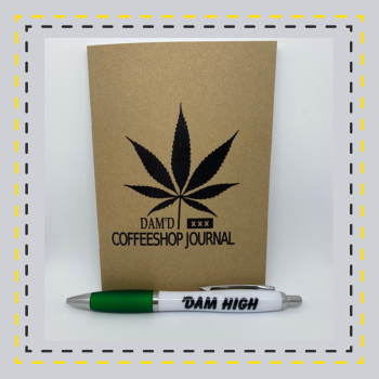 CoffeeShop Journal & Dam High Pen