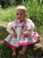 Birthday Celebrations Dress for Baby Dolls